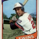 1980 Topps 432 Willie Norwood