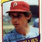1980 Topps 566 Bud Harrelson