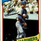1980 Topps 583 Bob Stinson