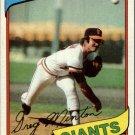 1980 Topps 588 Greg Minton