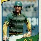 1980 Topps 687 Mike Heath DP