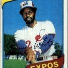 1980 Topps 724 Jerry White