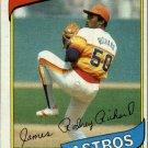 1980 Topps 50 J.R. Richard