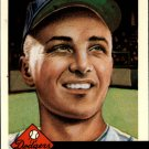 1991 Topps Archives 1953 34 George Shuba