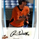 2011 Bowman Prospects BP52 Ronnie Welty