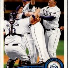 2011 Topps 52 Tampa Bay Rays TC