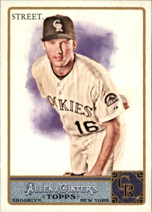 2011 Topps Allen and Ginter 104 Huston Street