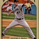 2011 Topps Gypsy Queen 109 Chris Volstad