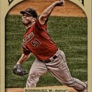 2011 Topps Gypsy Queen 268 Wandy Rodriguez