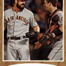 2011 Topps Heritage 423 Brian Wilson/Buster Posey