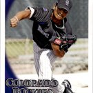 2010 Topps 502 Jhoulys Chacin