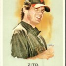 2010 Topps Allen and Ginter 296 Barry Zito
