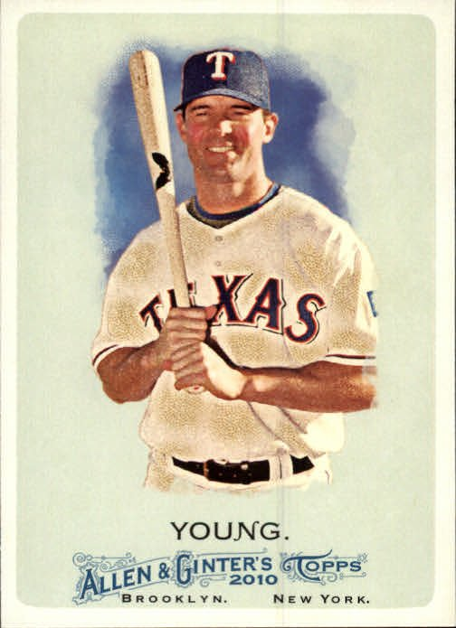 2010 Topps Allen and Ginter 171 Michael Young