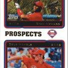 2010 Topps Cards Your Mom Threw Out CMT54 Ryan Howard/Cole Hamels