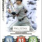 2010 Topps Series 2 Attax Code Cards 17 Justin Morneau