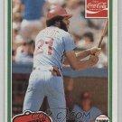1981 Coke Team Sets 102 Bake McBride