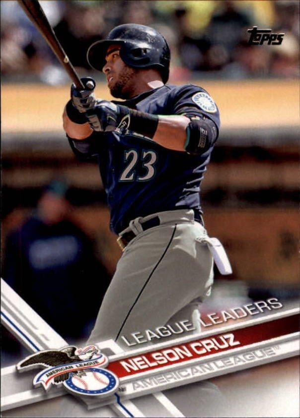 2017 Topps 271 Nelson Cruz LL