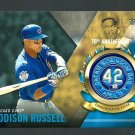 2017 Topps Jackie Robinson Logo Patches JRPCARU Addison Russell