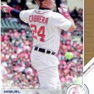 2017 Topps Salute S2 Miguel Cabrera