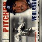 2008 SP Legendary Cuts 45 Justin Verlander