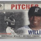 2008 SP Legendary Cuts 95 Dontrelle Willis
