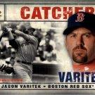 2008 SP Legendary Cuts 99 Jason Varitek