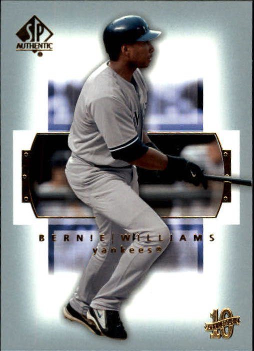 2003 SP Authentic 40 Bernie Williams