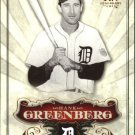 2006 SP Legendary Cuts 91 Hank Greenberg