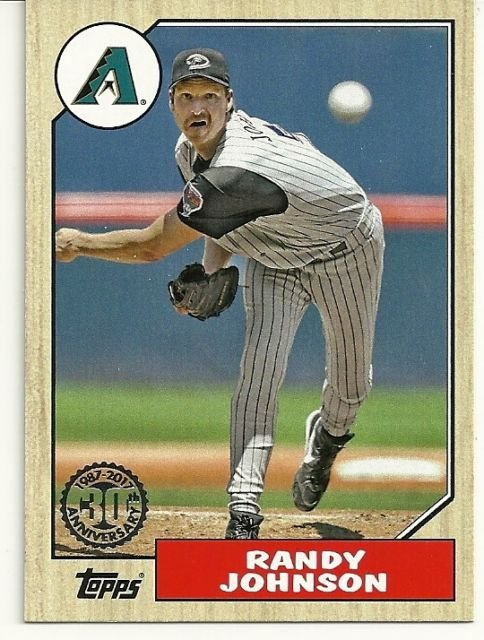 2017 Topps '87 Topps 37 Randy Johnson