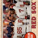 2017 Topps Heritage 382 Boston Red Sox TC