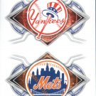 2017 Topps Stickers 149 New York Yankees/158 New York Mets