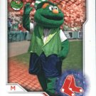 2017 Topps Stickers 91 Wally the Green Monster/Mascot