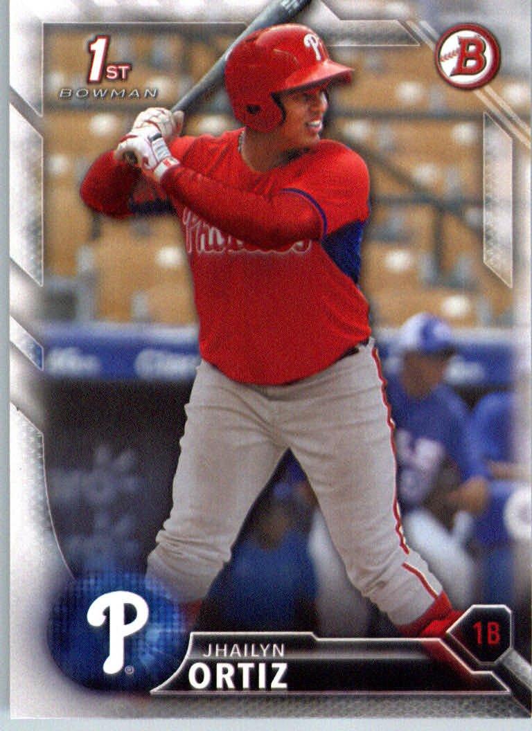 2016 Bowman Prospects BP31 Jhailyn Ortiz