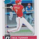 2016 Donruss Optic Holo 33 Trea Turner RR