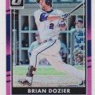 2016 Donruss Optic Pink 17 Brian Dozier DK