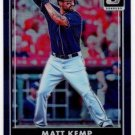 2016 Donruss Optic Purple 109 Matt Kemp