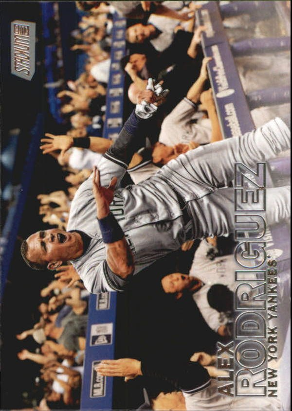 2016 Stadium Club 161 Alex Rodriguez