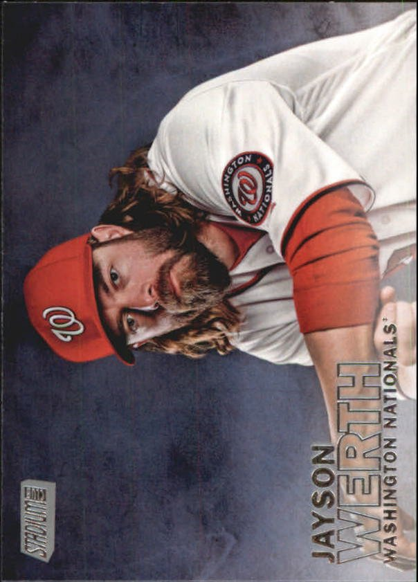 2016 Stadium Club 230 Jayson Werth