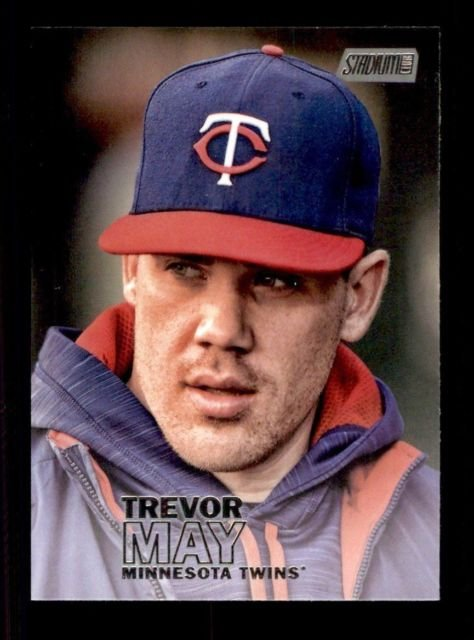 2016 Stadium Club 285 Trevor May