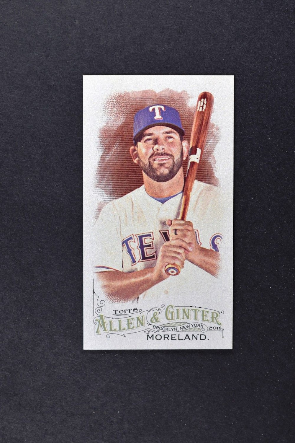 2016 Topps Allen and Ginter Mini 229 Mitch Moreland