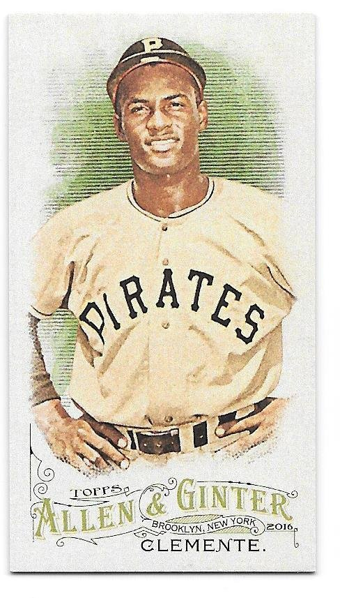 2016 Topps Allen and Ginter Mini 320 Roberto Clemente