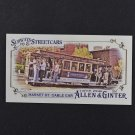 2016 Topps Allen and Ginter Mini Subways and Streetcars SS5 Market St. Cable Car