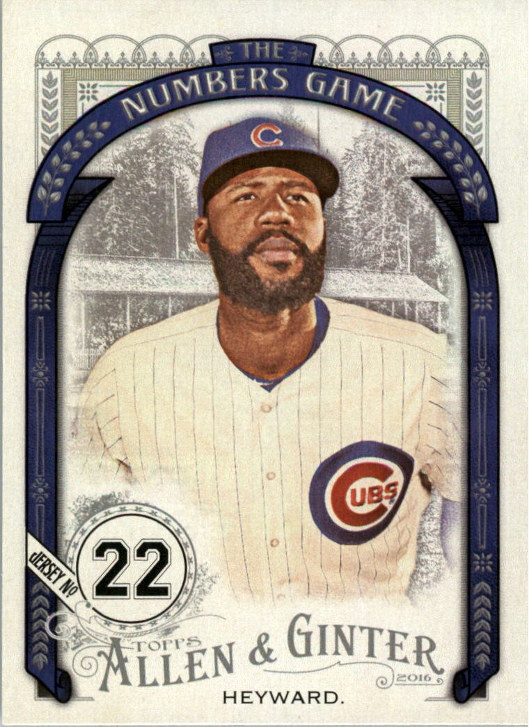 2016 Topps Allen and Ginter The Numbers Game NG7 Jason Heyward