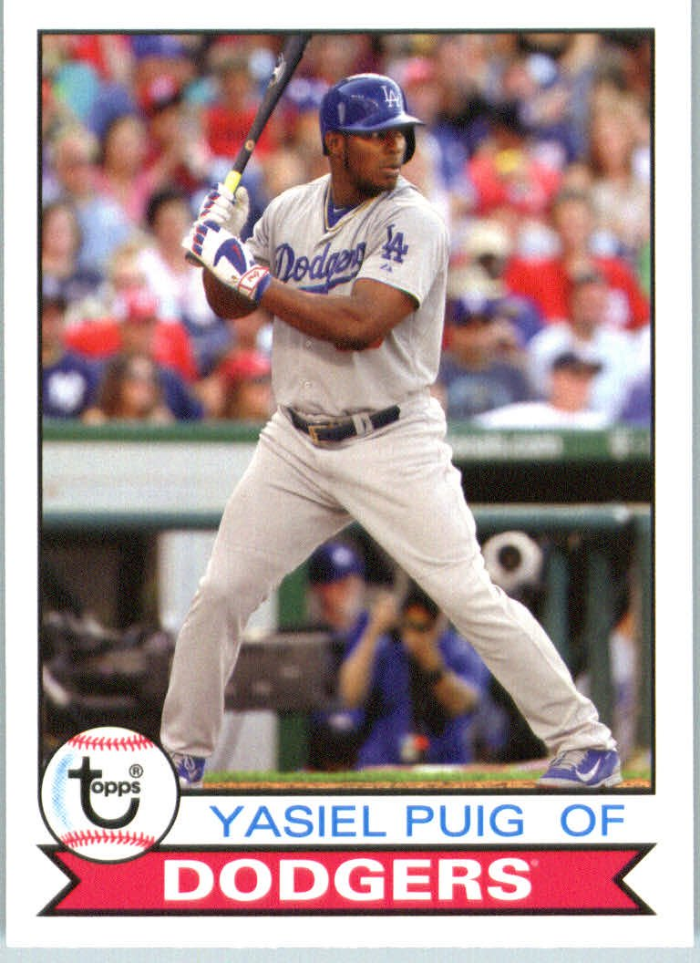 2016 Topps Archives 156 Yasiel Puig