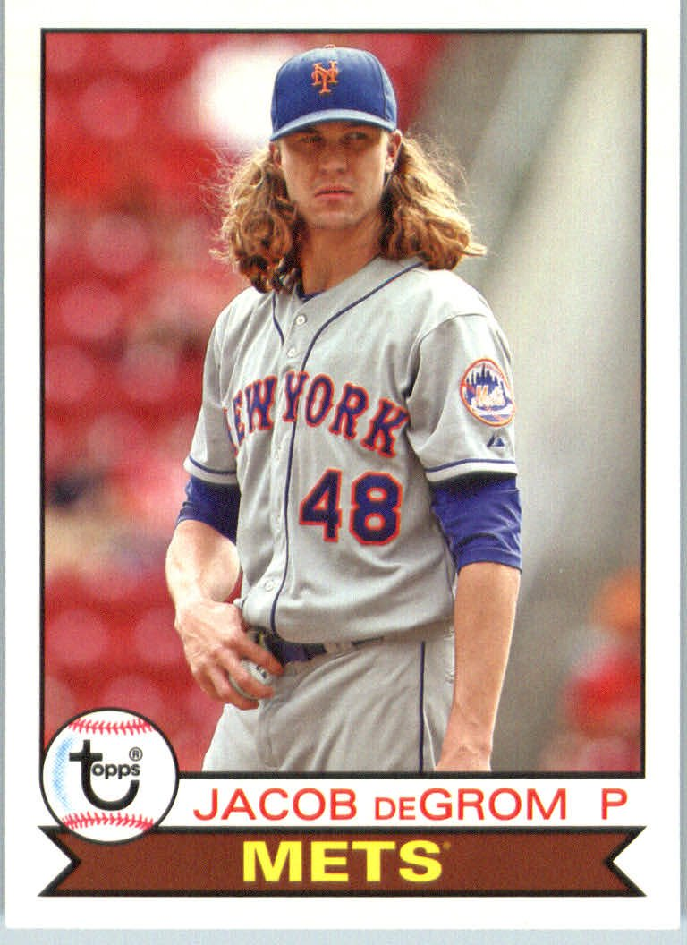 2016 Topps Archives 164 Jacob deGrom