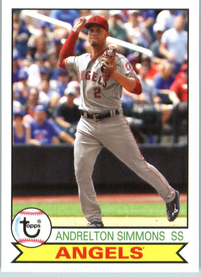 2016 Topps Archives 175 Andrelton Simmons