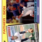 2016 Topps Archives '85 Father Son FSAAL Sandy Alomar Sr./Roberto Alomar