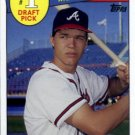 2016 Topps Archives '85 Topps 1 Draft Pick 85DPCJ Chipper Jones