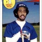 2016 Topps Archives '85 Topps 1 Draft Pick 85DPHB Harold Baines