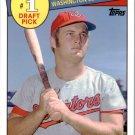 2016 Topps Archives '85 Topps 1 Draft Pick 85DPJB Jeff Burroughs